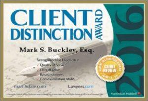 Mark Buckley Client Award