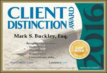 Mark Buckley Client Award